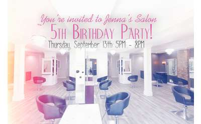 5th Birthday Party poster