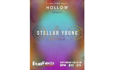 stellar young event poster