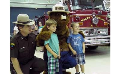 fireman and smokey the bear