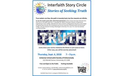 stories of seeking truth poster