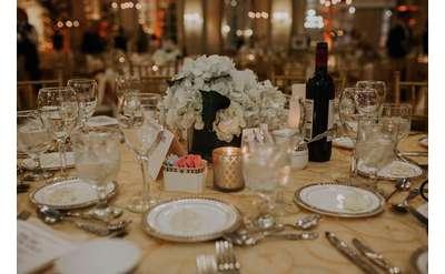 a table elegantly set