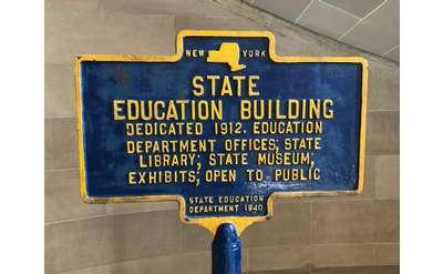 edu building sign