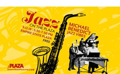 Jazz on the Plaza poster