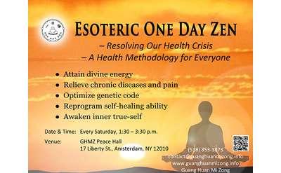 one day zen class