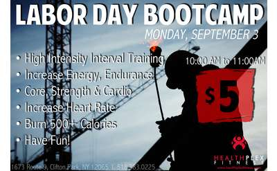 labor day bootcamp poster