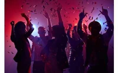 People dancing at a party