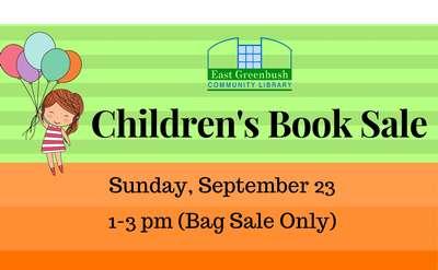 Children's Book Sale promo