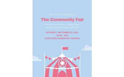 Community Fair promo