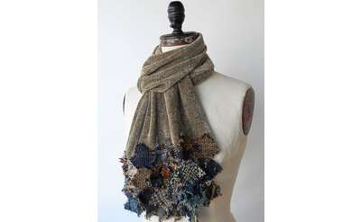 hand crafted scarf