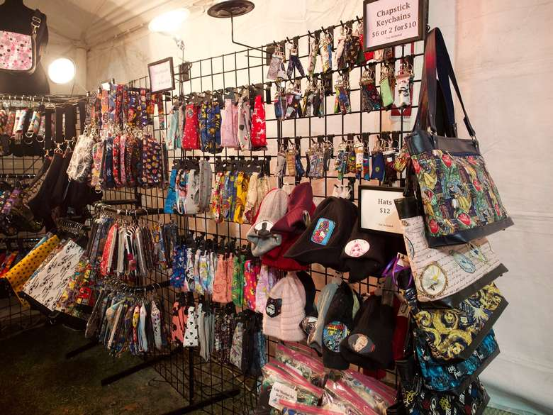 items for sale at market