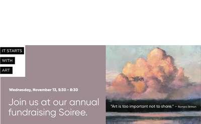 Saratoga Arts Annual Fundraiser Soirée