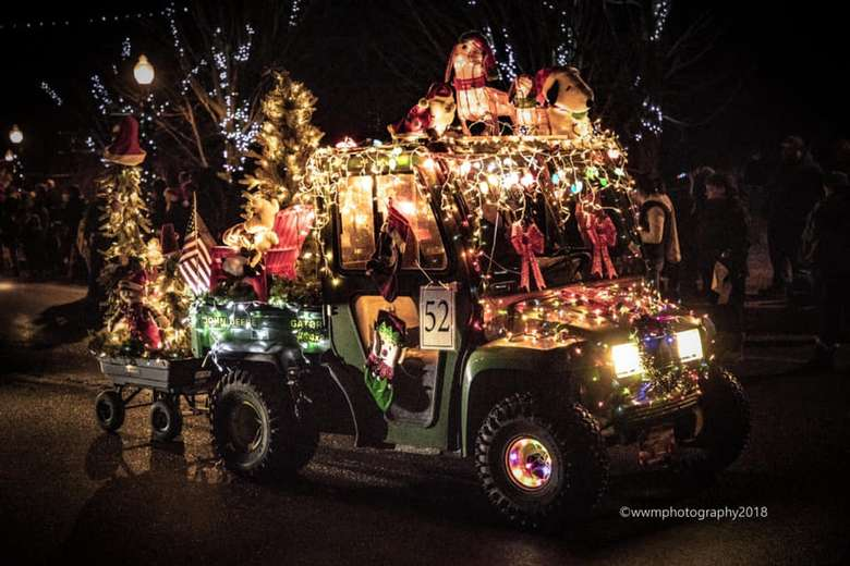 2019 Lighted Tractor Parade In Granville Friday Dec 13