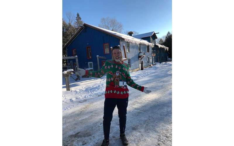 man in ugly sweater