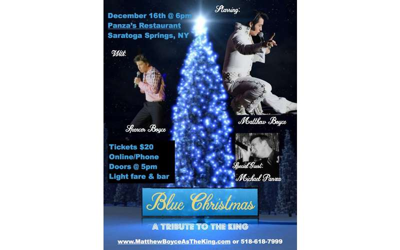 blue christmas a tribute to the king - Blue Christmas