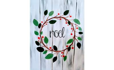 Noel Wreath! Or Choose Your Script!