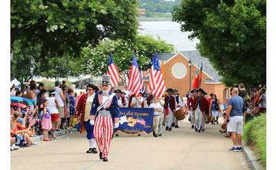 Photo of Independence Day parade
