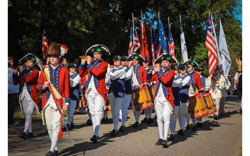 Photo of yorktown day parade