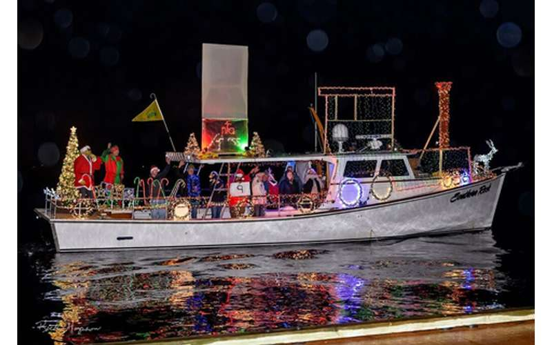 Photo of Lighted Boat Parade