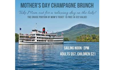 mother's day brunch cruise aboard the lac du saint sacrement