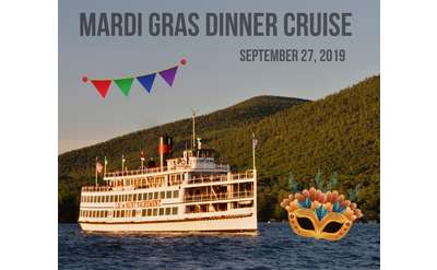 mardi gras dinner cruise aboard the lac du saint sacrement