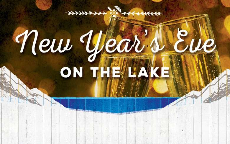 New Year's Eve on the Lake poster