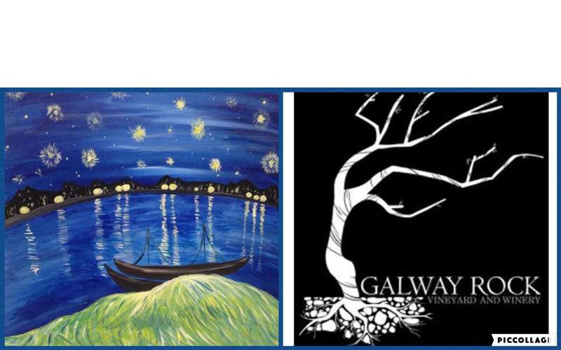 Paint Starry Night Over the Rhone at the Galway Rock Winery! (1)