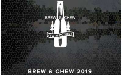 Promotional Banner for ADK Brew & Chew 2019
