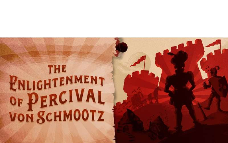 poster for the enlightenment of percival von schmootz