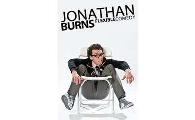 poster for jonathan burns flexible comedy