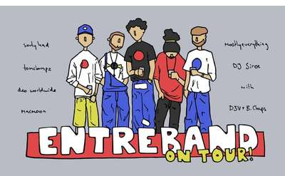 Banner for Entreband on Tour