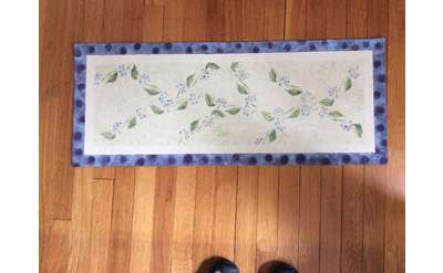 Photo of a Traditional Table Runner