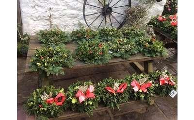 Photo of wreaths