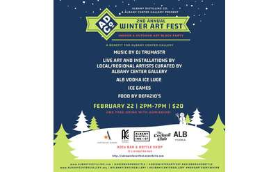 List of artists at the 2nd Annual Winter Art Fest