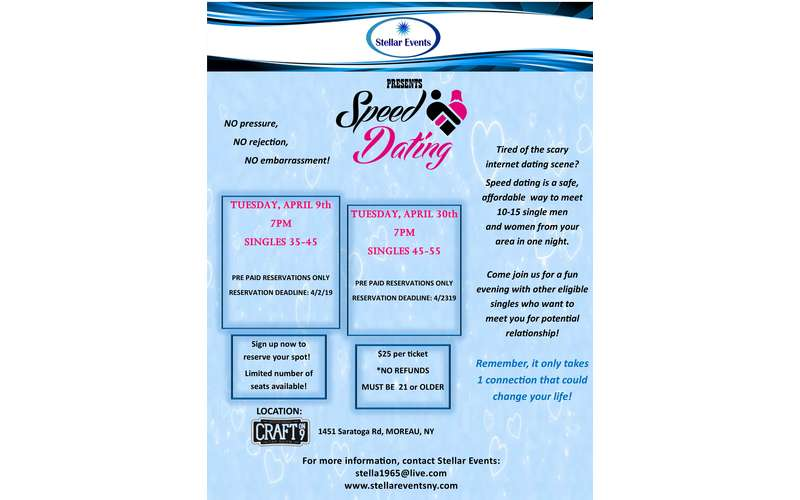 information about speed dating