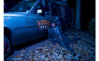Fright Fest Hearse