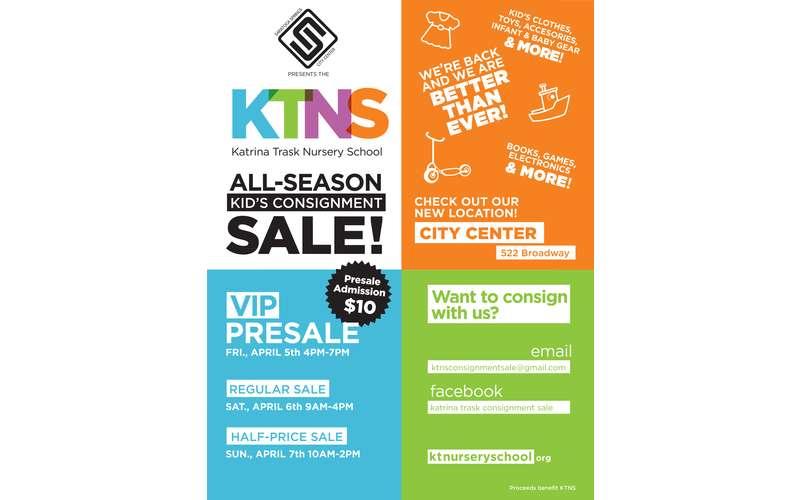 Poster for KTNS All-Season Sale