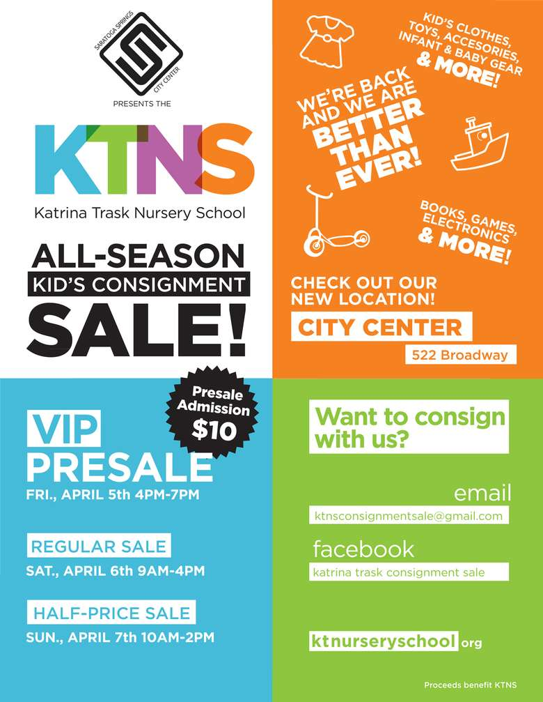 Poster for KTNS All-Season Sale