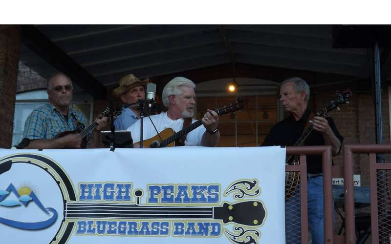Photo of high peaks bluegrass band