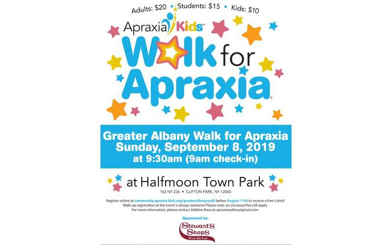 Walk for Apraxia Poster