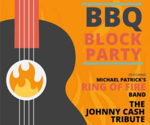 bbq block party poster