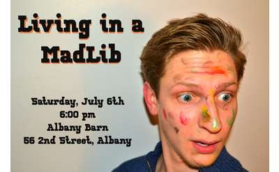Banner for Living in a Madlib