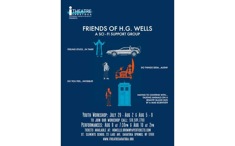 Friends of H.G. Wells: A Sci-Fi Support Group (1)