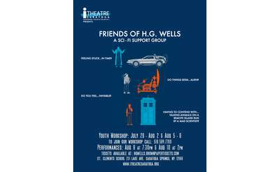 Friends of H.G. Wells: A Sci-Fi Support Group