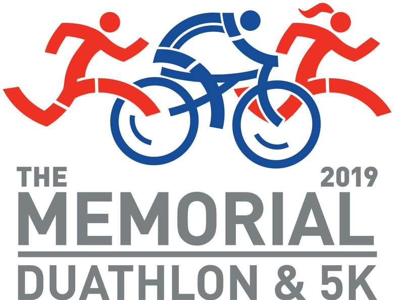 Banner for Memorial Duathlon & 5K
