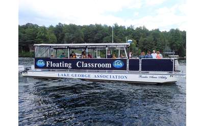 Photo of boat for floating classroom