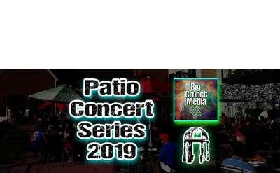 Patio Concert Series 2019 Banner