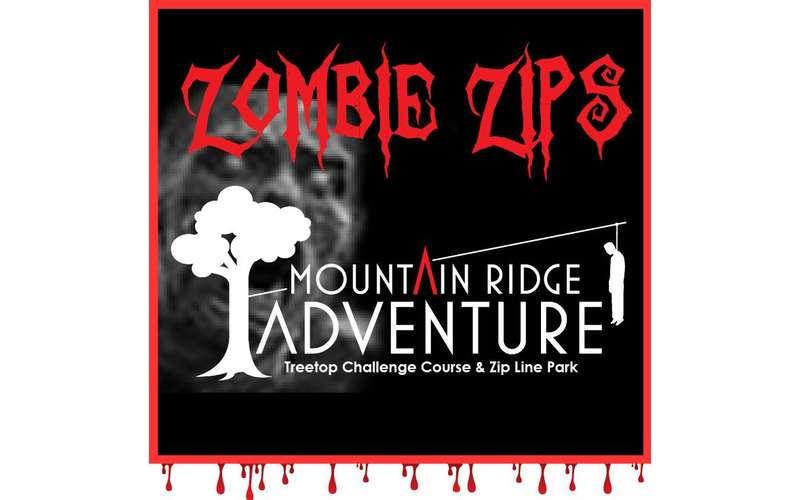 Zombie Zips at Mountain Ridge Adventure (1)