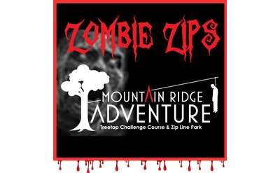 Zombie Zips at Mountain Ridge Adventure