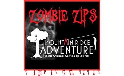 Zombie Zips at Mountain Ridge Adventure