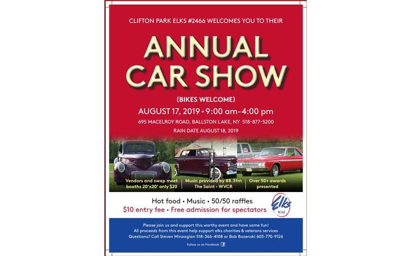 Annual Car Show Poster